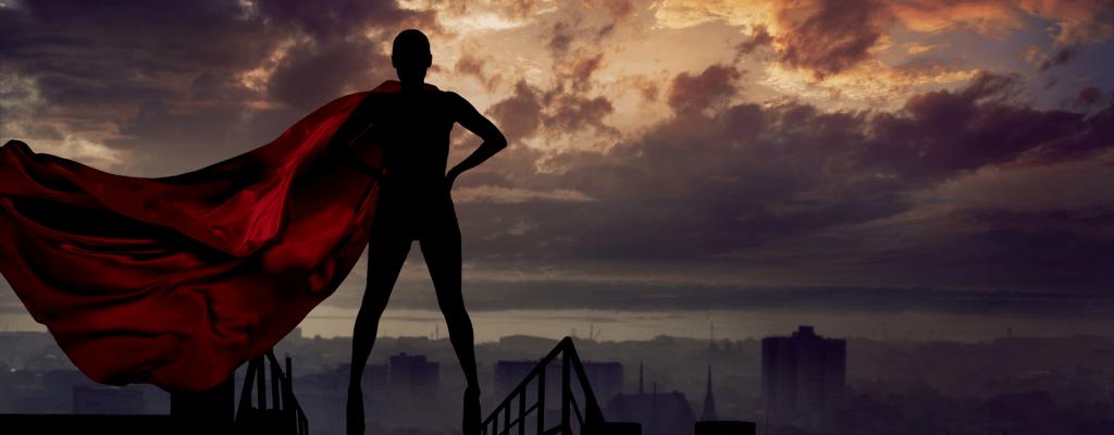 לעולם אל תשכח שאתה גיבור על כשאתה בעל עסק.